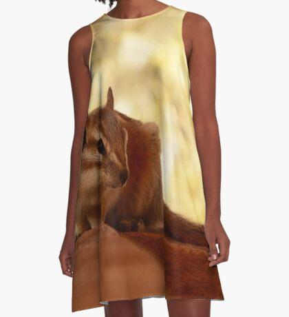 Its cool in the shade A-Line Dress