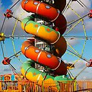 Empty rides, end of summer by gracetalking