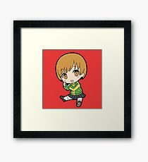 Chie Satonaka Chibi Framed Print