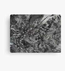 night-sky - the abstract Canvas Print