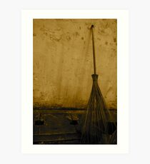 broom broom broom Art Print