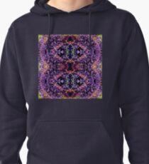 Purple Heart Spiderwort - In the Mirror Pullover Hoodie