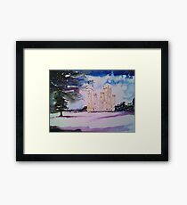 'Downton Abbey, Winter' Framed Print