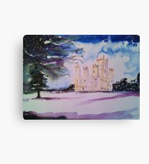'Downton Abbey, Winter' Canvas Print