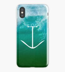 Blue, green ocean iPhone Case
