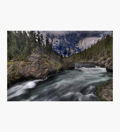 Yellowstone Upper Falls Photographic Print