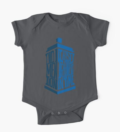 It also travels in time Kids Clothes
