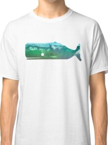 Sperm Whale wave Classic T-Shirt