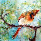 SpringTime She Cardinal by CheyAnne Sexton by CheyAnne Sexton