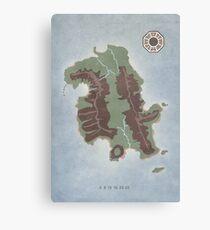 Lost Island Dharma Canvas Print
