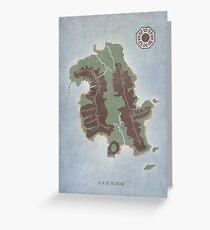 Lost Island Dharma Greeting Card