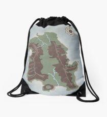 Lost Island Dharma Drawstring Bag