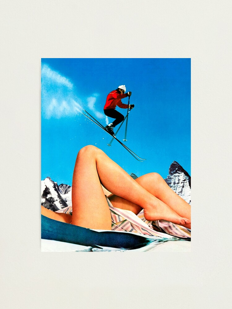 Alternate view of Skiing Time Photographic Print