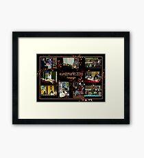 Kunstmarkt Collage 1 - Arts and Crafts Market 1 Framed Print