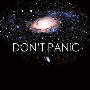 New Galaxy Don't Panic by YogiStore
