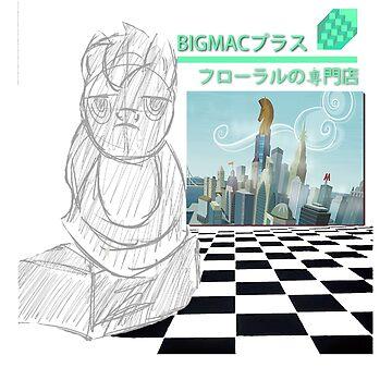 BIG MACINTOSH PLUS by quhz