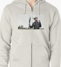 Viking Thoughts Zipped Hoodie