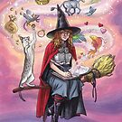 Everyday Witch Oracle - Imagine and Envision by Elisabeth Alba