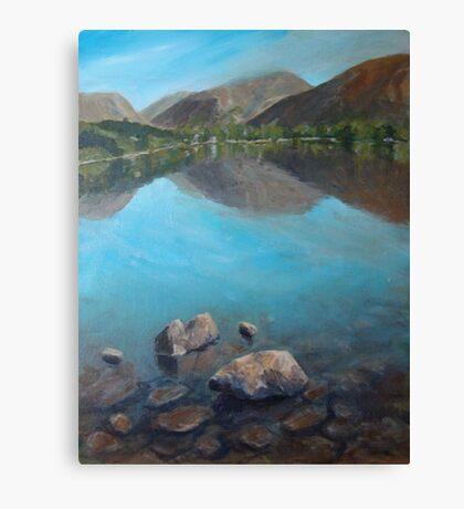 Lakes Canvas Print