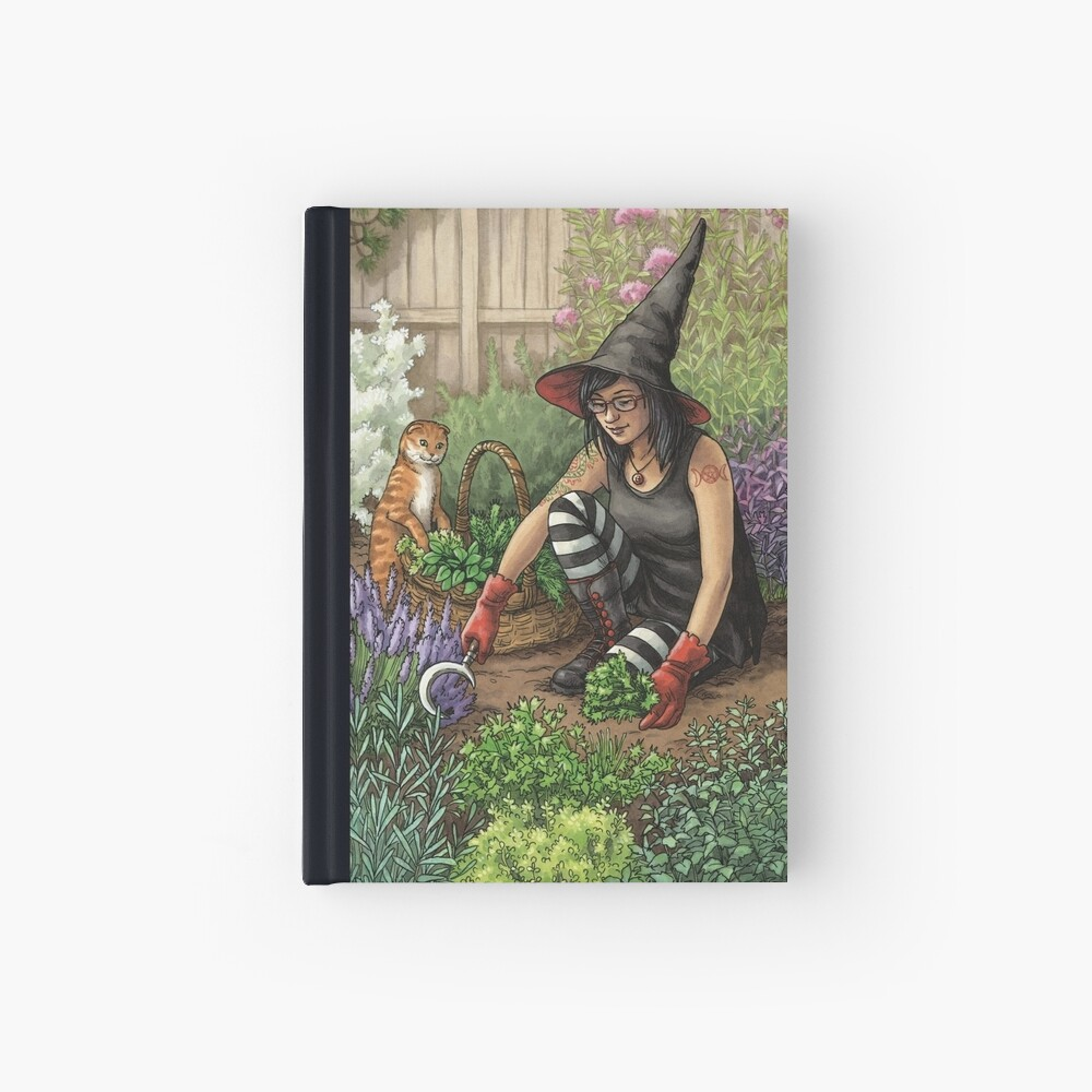 Everyday Witch Oracle - Seasonal Harvest Hardcover Journal