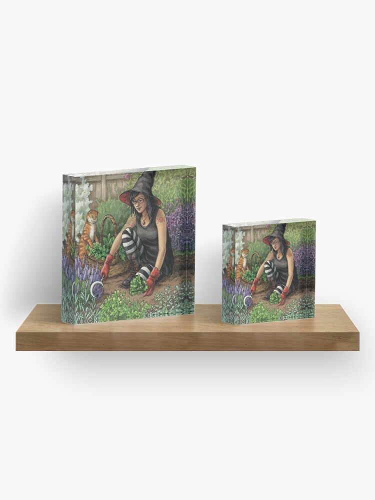 Alternate view of Everyday Witch Oracle - Seasonal Harvest Acrylic Block