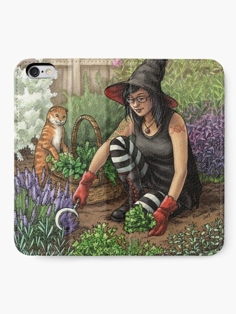 Alternate view of Everyday Witch Oracle - Seasonal Harvest iPhone Wallet