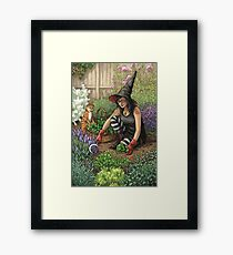 Everyday Witch Oracle - Seasonal Harvest Framed Print