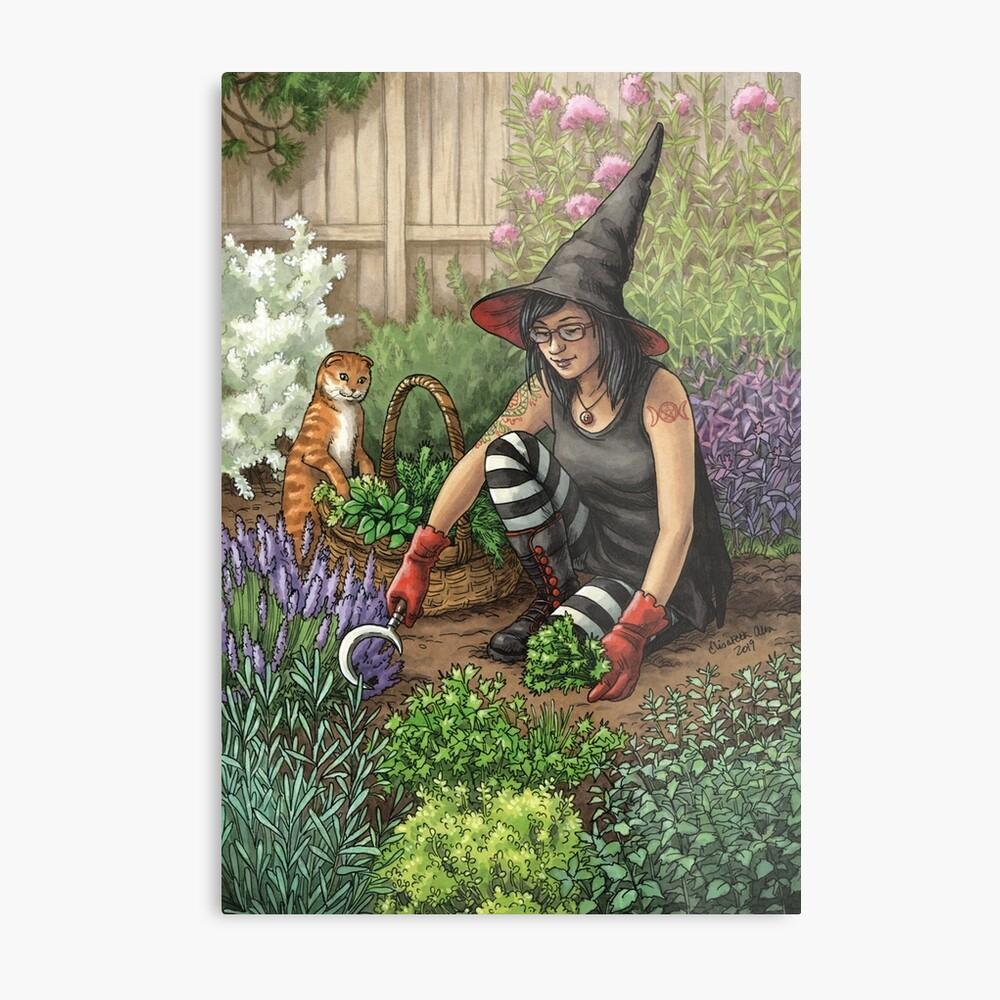 Everyday Witch Oracle - Seasonal Harvest Metal Print