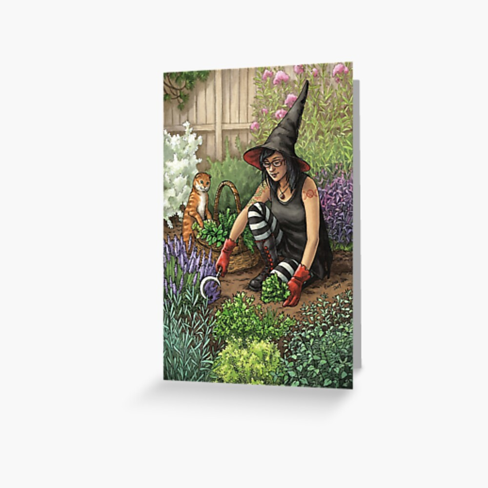 Everyday Witch Oracle - Seasonal Harvest Greeting Card