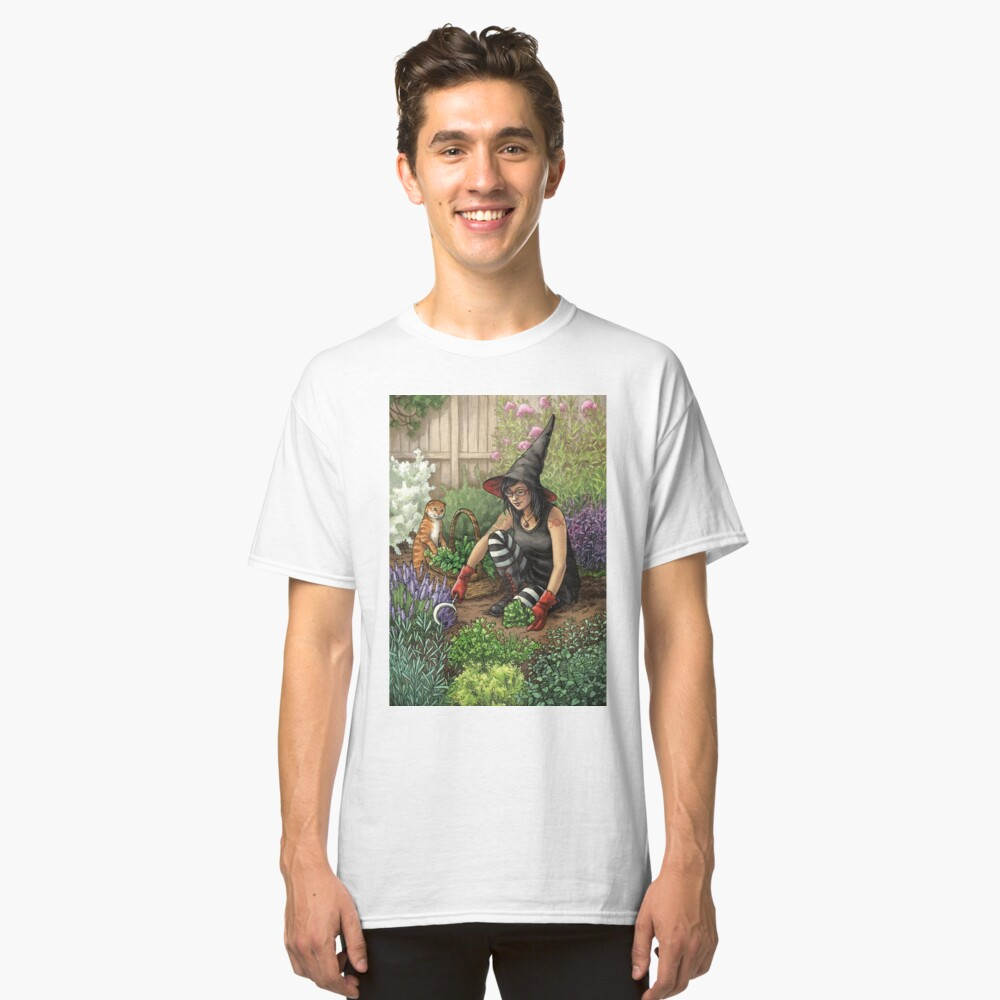 Everyday Witch Oracle - Seasonal Harvest Classic T-Shirt
