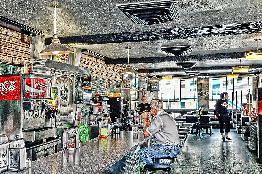Quot Inside A Classic Diner In Rural America Quot By John R Franco