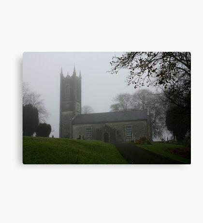 Church on Sunday Canvas Print