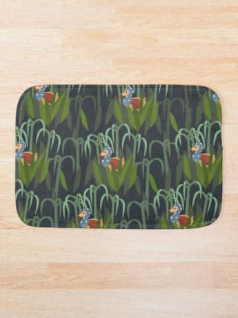 sugarcane forest Bath Mat