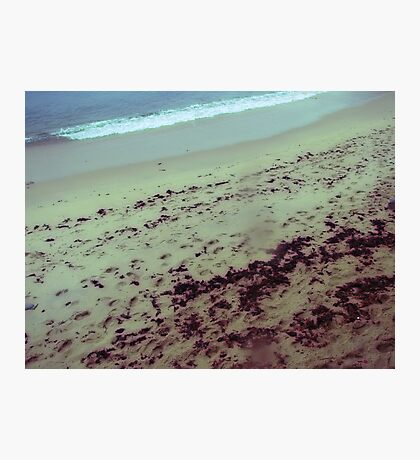 the place at the sea where my tears stained my lens Photographic Print