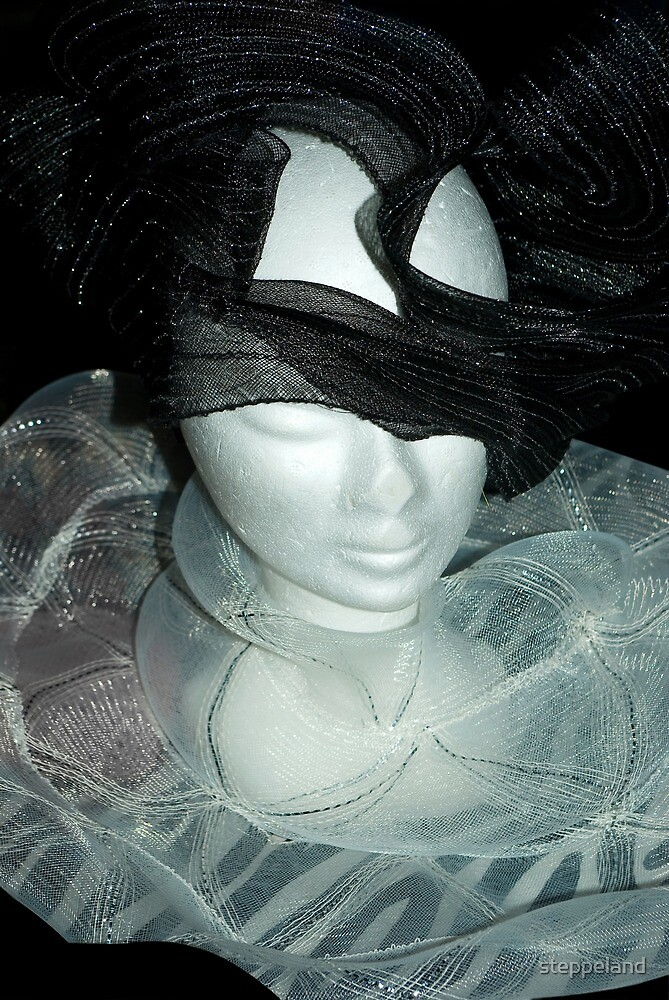Tulle hats and collars 2 by steppeland