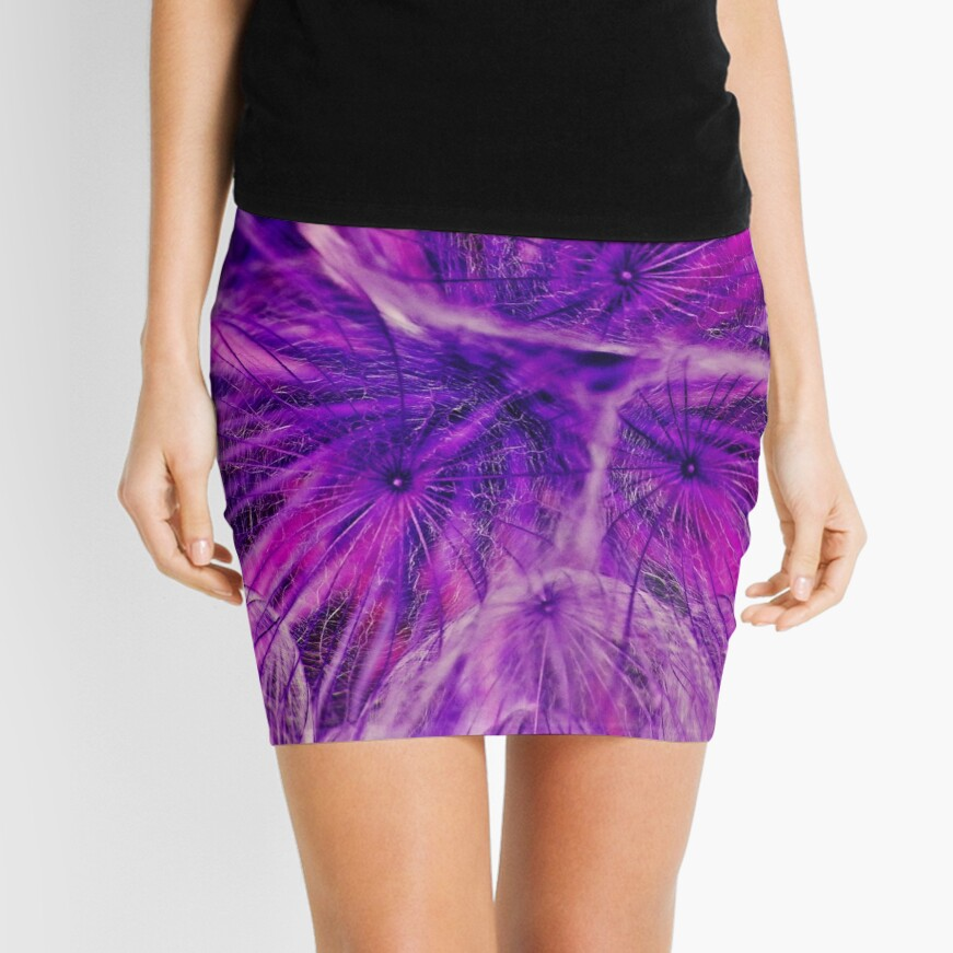Goatsbeard Seed Mini Skirt