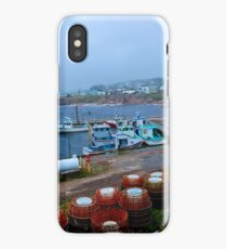 Nova Scotia Harbor iPhone Case/Skin