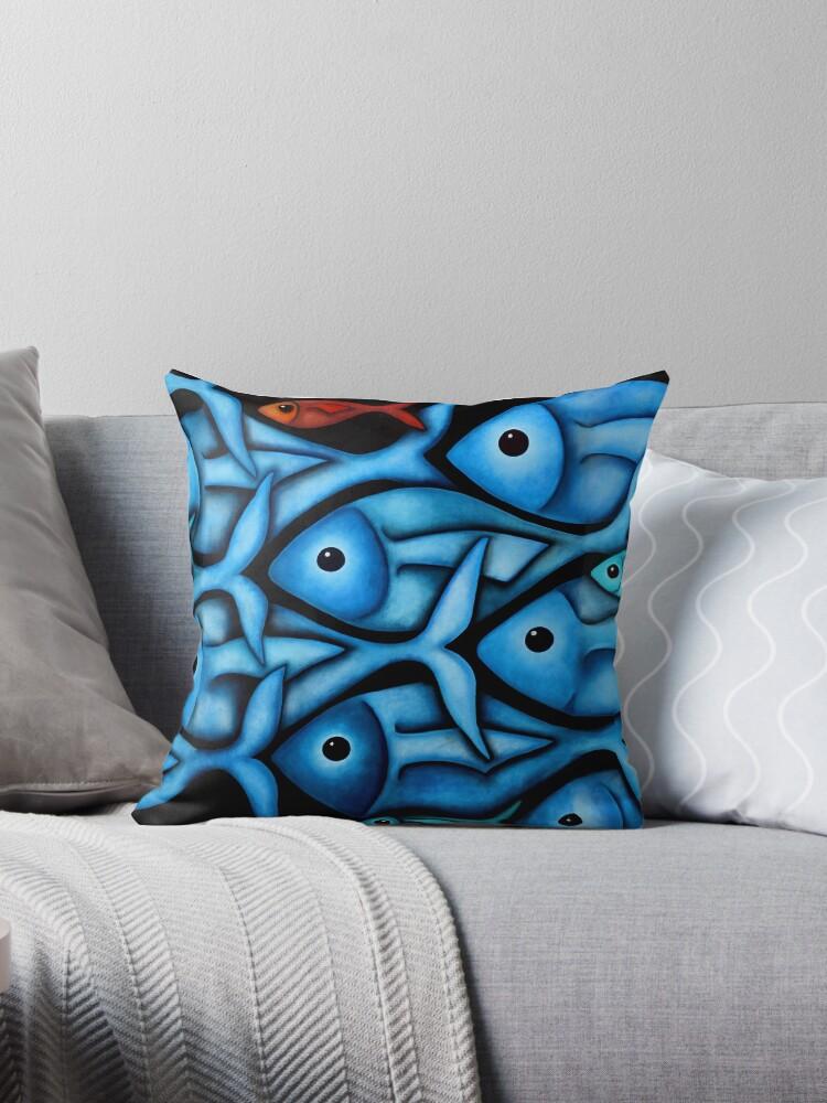 Blue Fish 2 by Georgie Greene