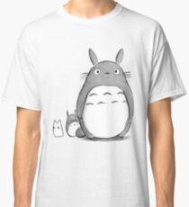 Totoro und Sprite Classic T-Shirt