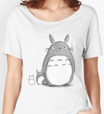 Totoro and Sprite Women's Relaxed Fit T-Shirt
