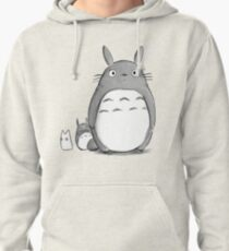 Totoro and Sprite Pullover Hoodie