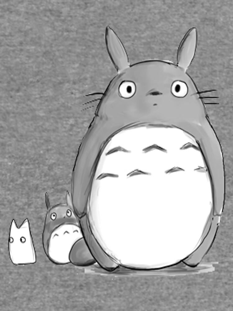 Totoro y Sprite de kayleesuniverse