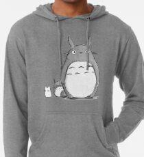 Totoro und Sprite Leichter Hoodie