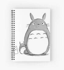 Totoro and Sprite Spiral Notebook
