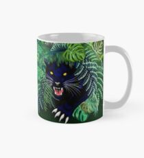 Black Panther Spirit coming out from the Jungle Classic Mug