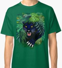 Black Panther Spirit coming out from the Jungle Classic T-Shirt
