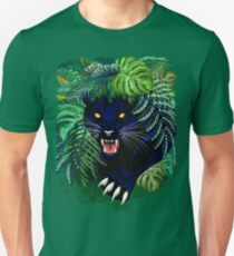 Black Panther Spirit coming out from the Jungle Slim Fit T-Shirt