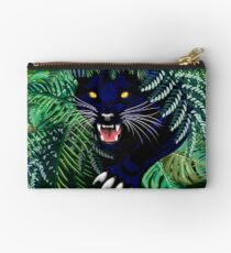 Black Panther Spirit coming out from the Jungle Zipper Pouch