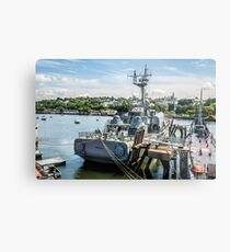 Soviet Missile Corvette: Battleship Cove Fall River, MA Metal Print