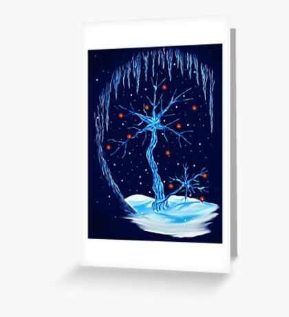 Fantasy Tree- Christmas Card Greeting Card